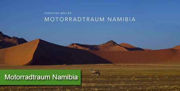 Motorradtraum Namibia