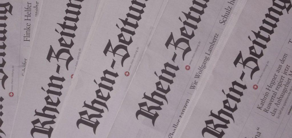 Exkursion Rheinzeitung