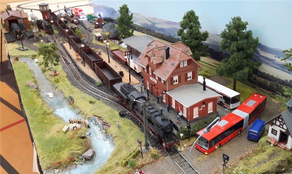 Ein Rangierbahnhof mit historischem Eifeler